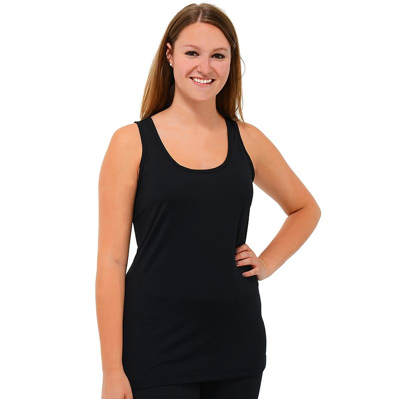 90 Degree by Reflex Scoopneck Racerback Yoga Tank - Women's Plus Size