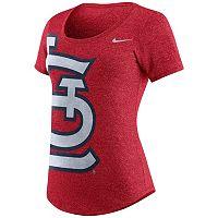Women's Nike St. Louis Cardinals Marled Tee