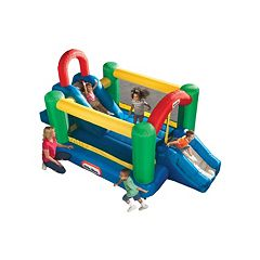 Little Tikes Jump & Double Slide Bouncer by