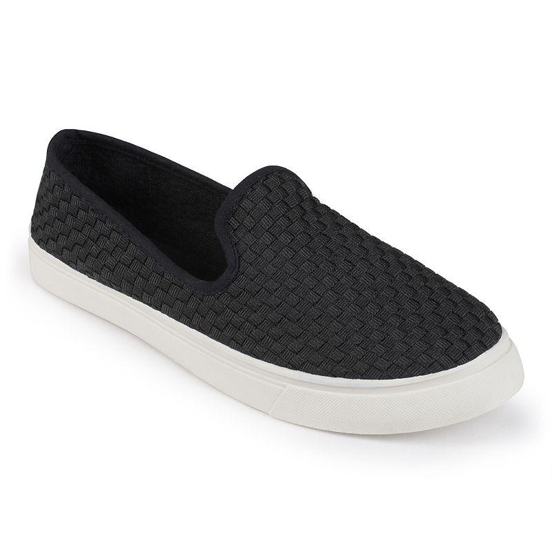 Journee Collection Armin Women's Woven Slip-On Sneakers