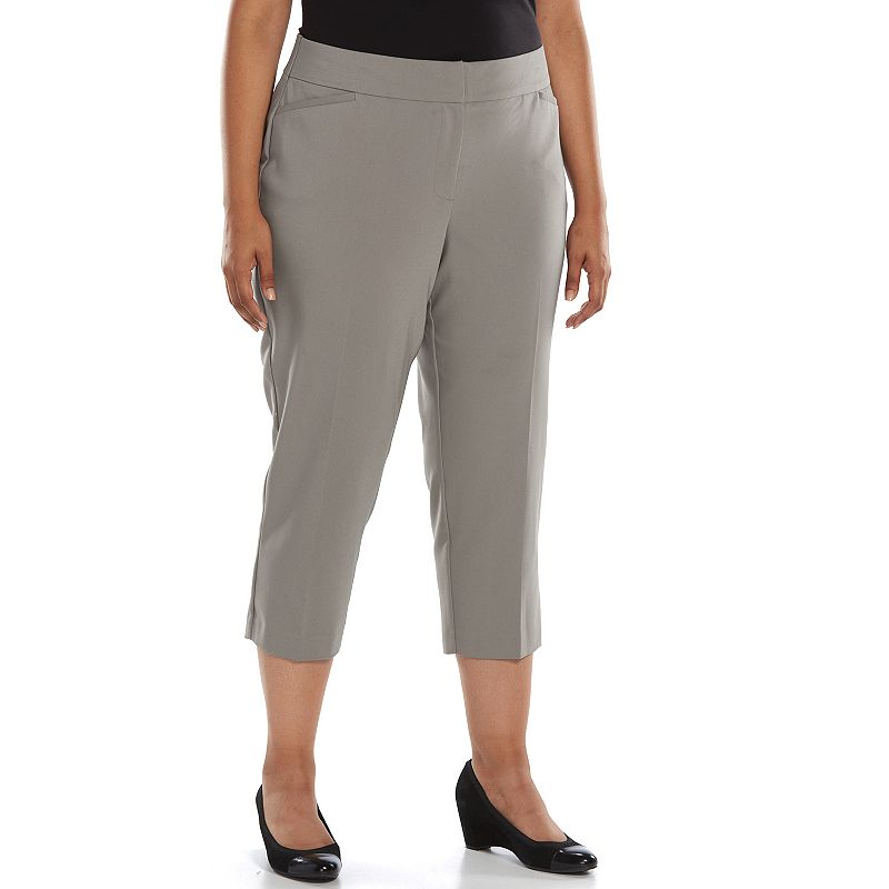 Plus Size Apt. 9® Curvy Fit Capris