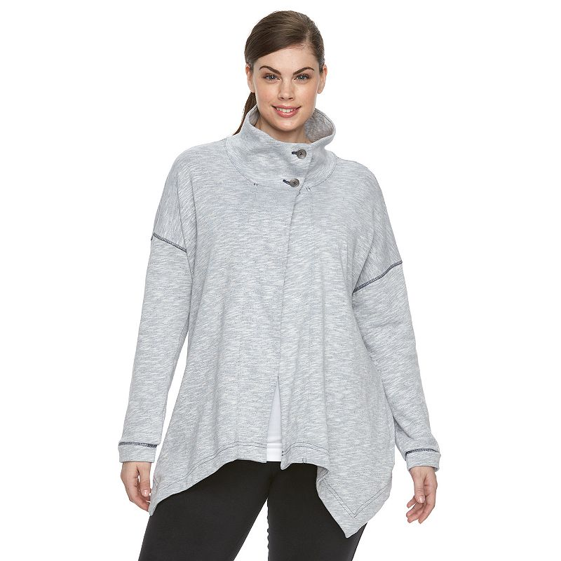Plus Size Columbia North Alp Flyaway Cardigan