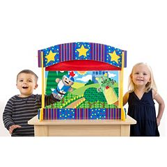 Melissa & Doug Tabletop Puppet Theater by