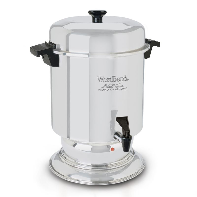 West Bend 55-Cup Commercial Stainless Steel Coffee Urn 99835052