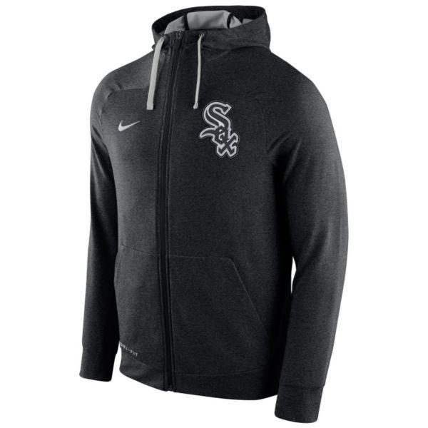 Men's Nike Chicago White Sox Dri-FIT Full-Zip Hoodie