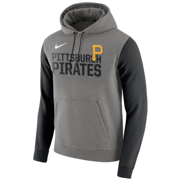Men's Nike Pittsburgh Pirates Club Fleece Pullover Hoodie