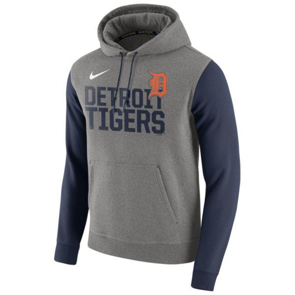 Men's Nike Detroit Tigers Club Fleece Pullover Hoodie
