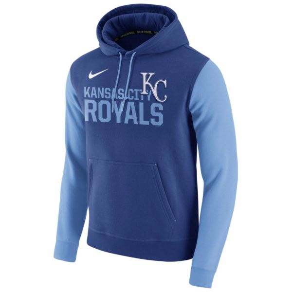 Men's Nike Kansas City Royals Club Fleece Pullover Hoodie