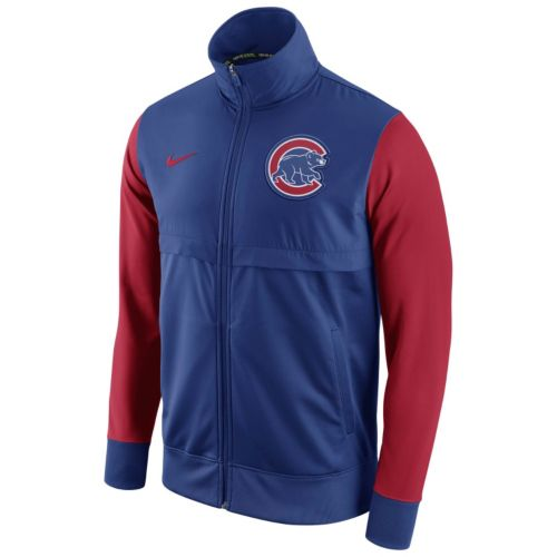 Men's Nike Chicago Cubs Track Jacket
