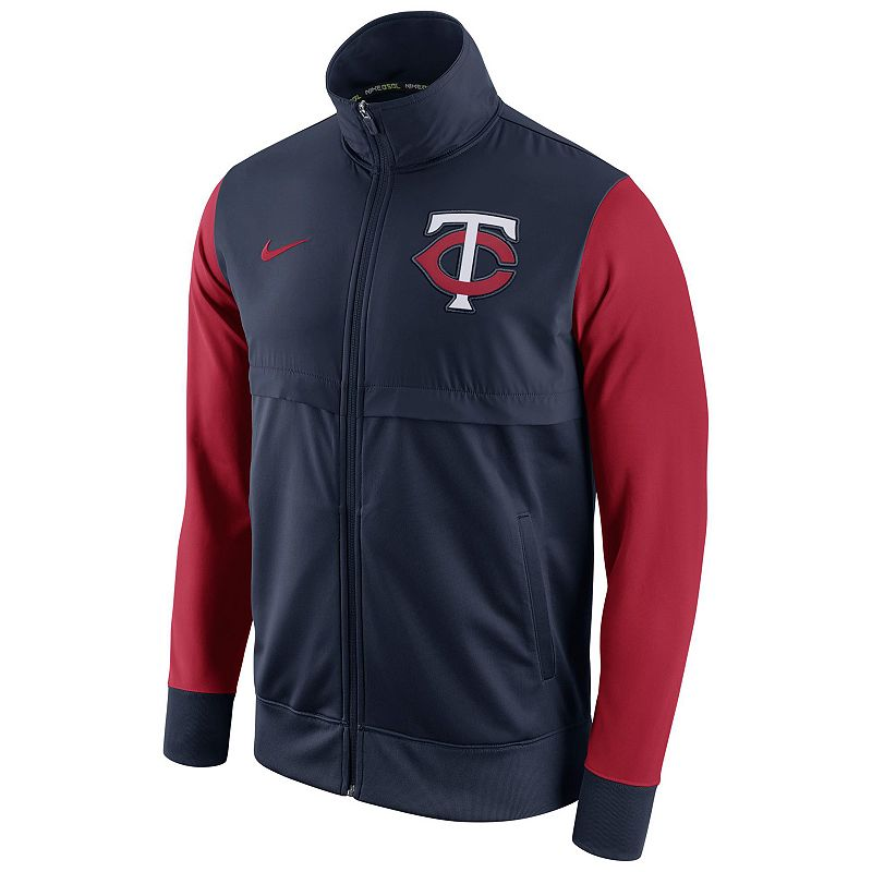 Men's Nike Minnesota Twins Track Jacket