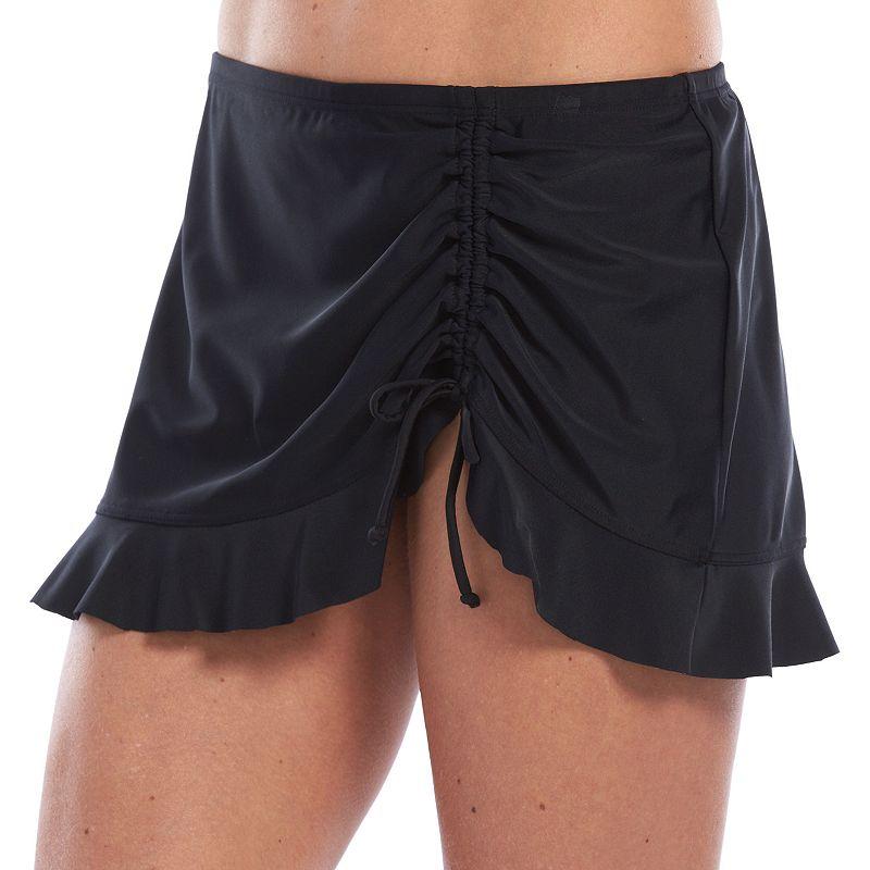 Women's Croft & Barrow® Ruffled Skirted Bottom