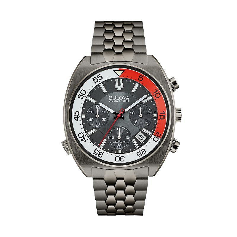 Bulova Men's Accutron II Stainless Steel Chronograph Watch - 98B253