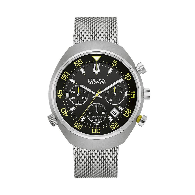 Bulova Men's Accutron II Stainless Steel Chronograph Watch - 96B236