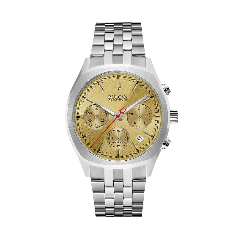 Bulova Men's Accutron II Stainless Steel Chronograph Watch - 96B239