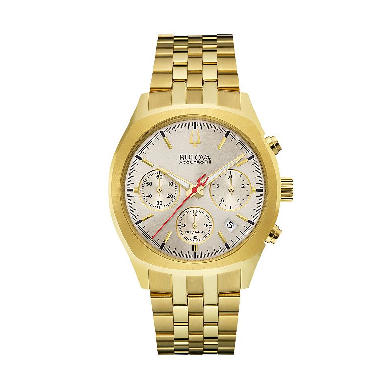 Bulova Men's Accutron II Stainless Steel Chronograph Watch - 97B150