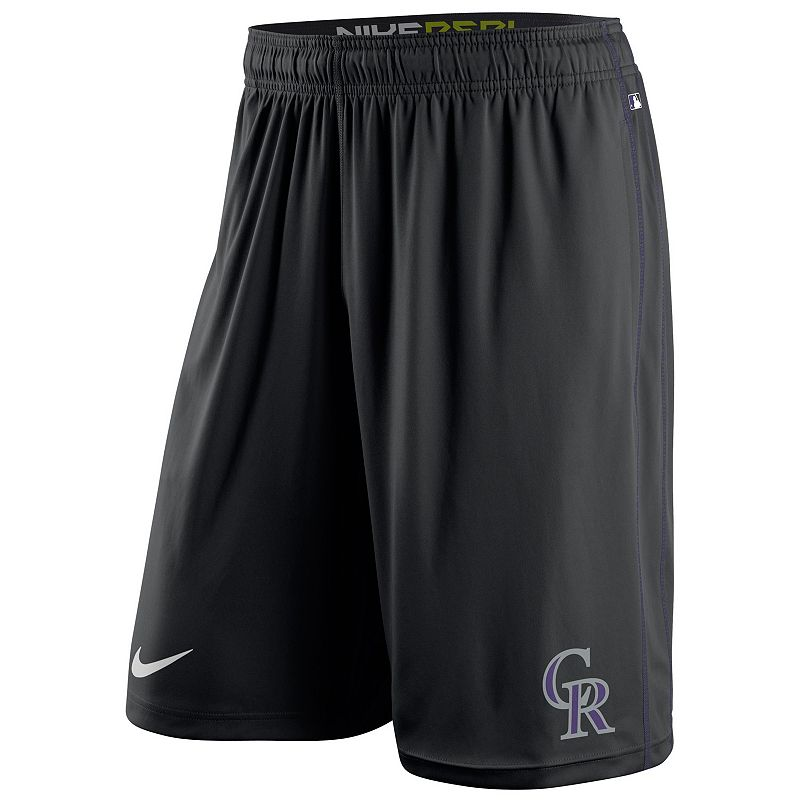 Men's Nike Colorado Rockies Fly Shorts