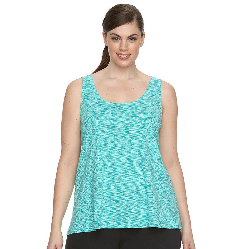 Plus Size Columbia Wildwood Forest Space-Dye Tank