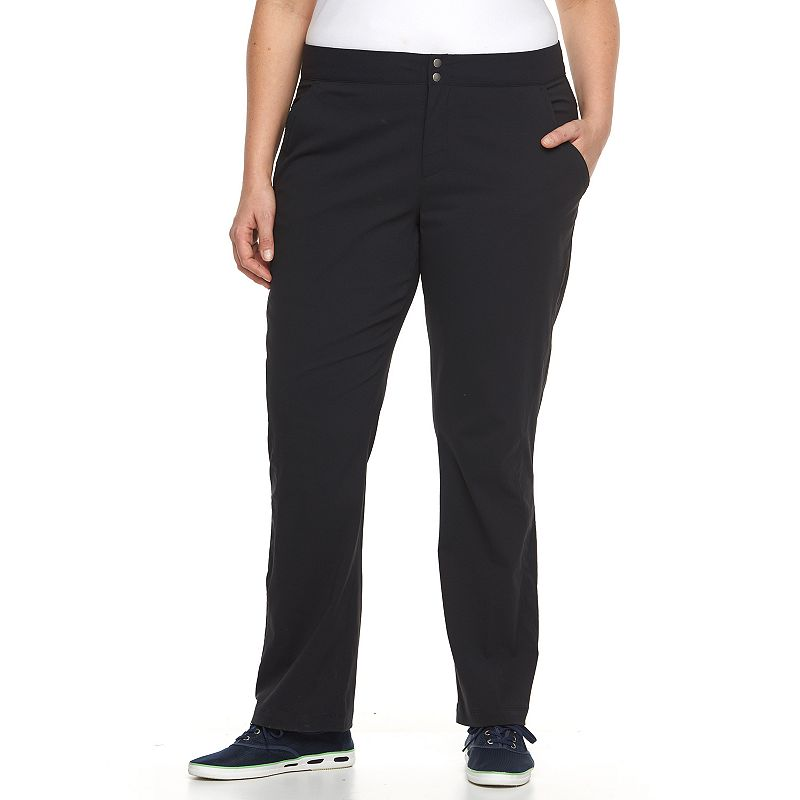 Plus Size Columbia Zephyr Heights Woven Straight-Leg Pants