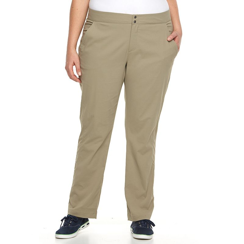 Plus Size Columbia Zephyr Heights Woven Straight-Leg Pants