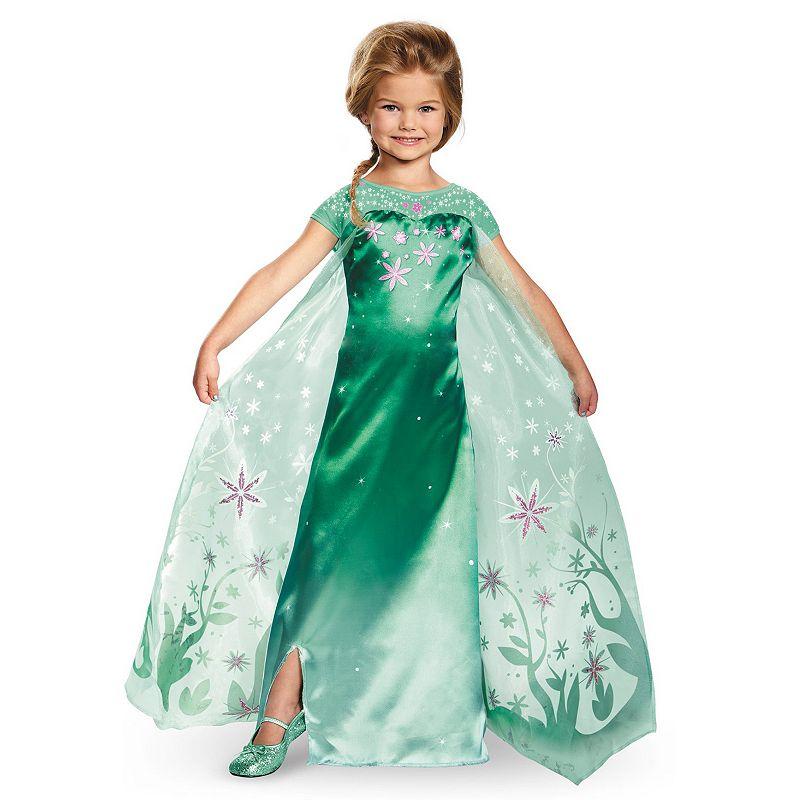 Disney's Frozen Fever Elsa Costume - Kids