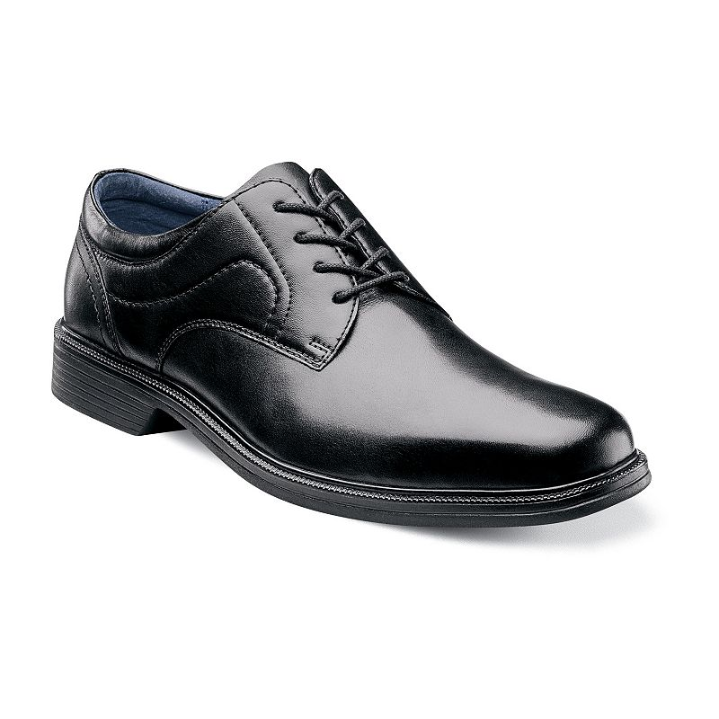 Nunn Bush Columbus Men's Oxford Plain Toe Dress Shoes