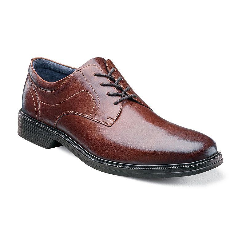 Nunn Bush Columbus Men's Oxford Plain Toe Dress Shoes