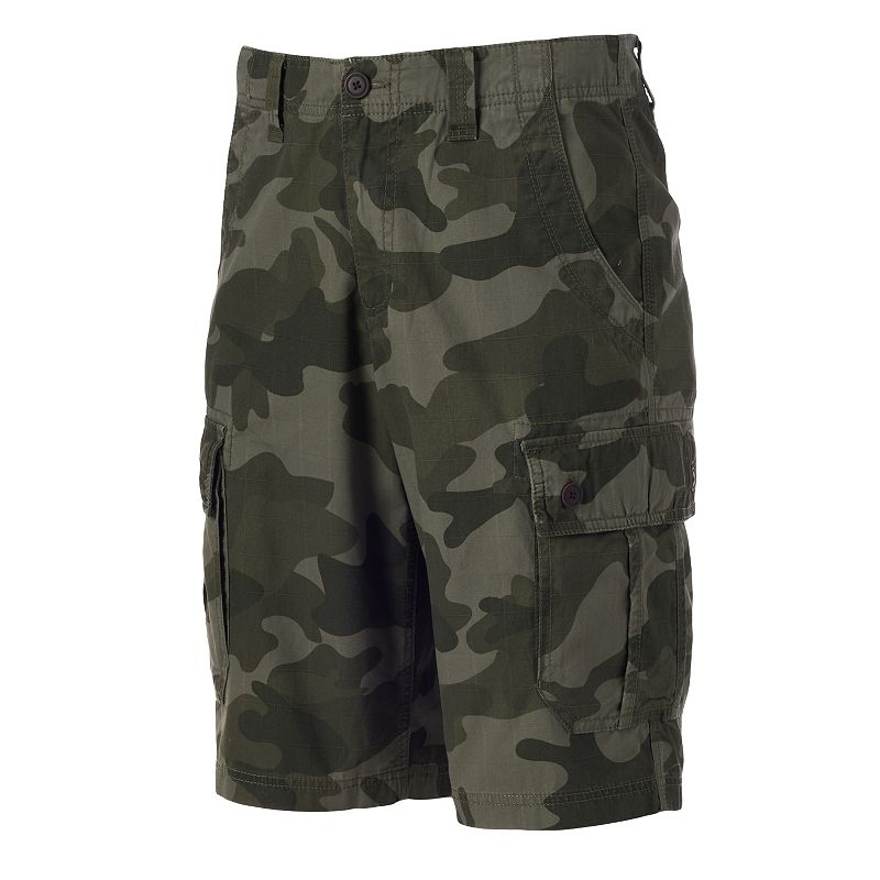 Big & Tall Urban Pipeline® Camouflage Ripstop Cargo Shorts