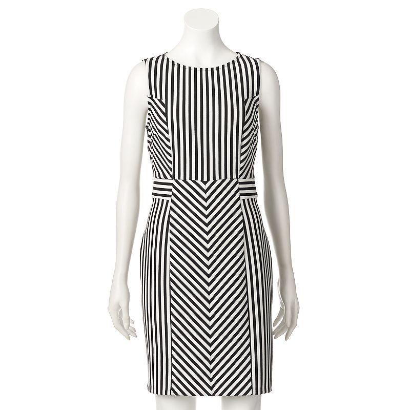 Apt. 9® Ponte Sheath Dress - Women's