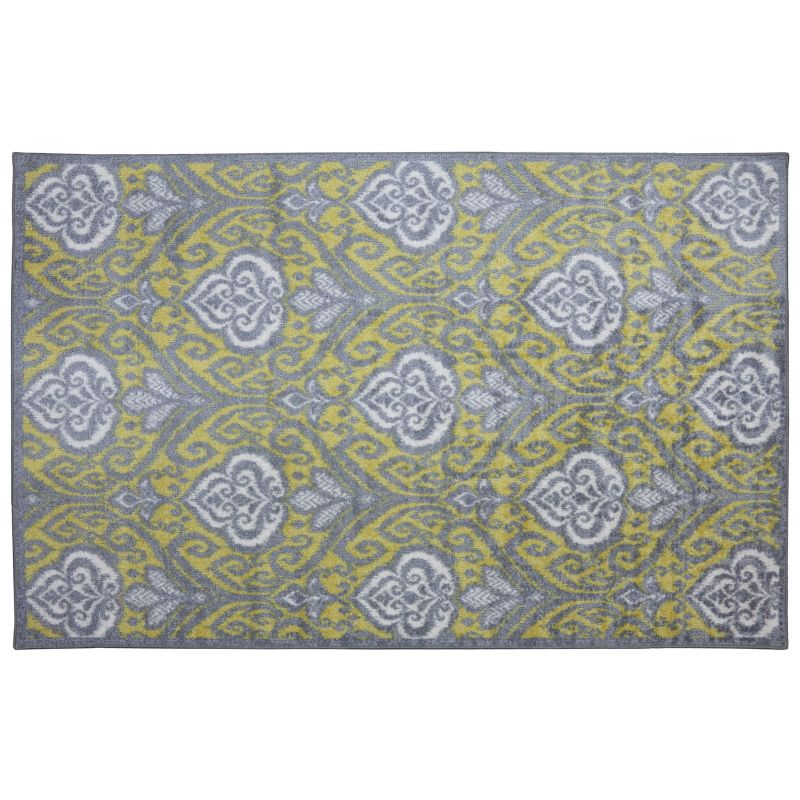 Mohawk Home Elegant Ikat Ornamental Indoor Outdoor Rug