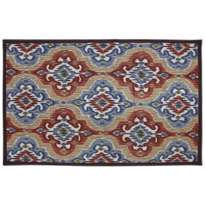 Mohawk Home Mystic Ikat Ornamental Indoor Outdoor Rug
