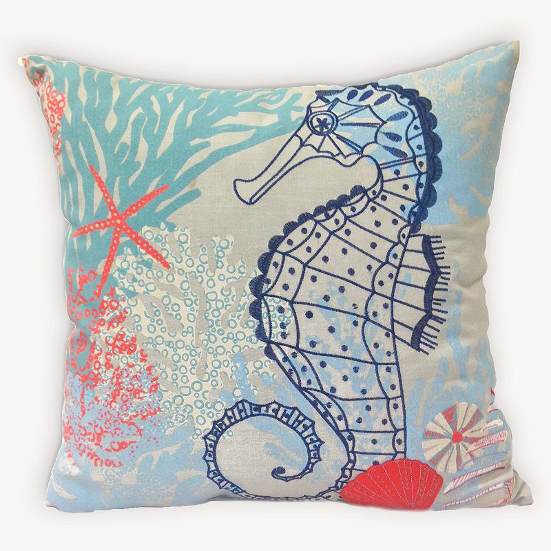 Nautical Polyester Fill Throw Pillow Kohl s