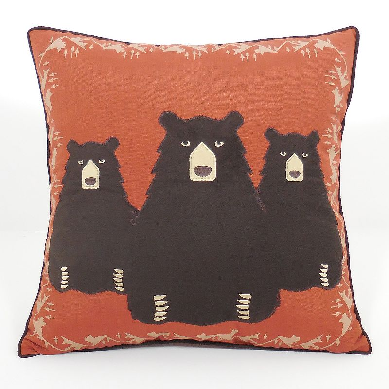 Throw Pillows From Kohls : Brown Polyester Fill Throw Pillow Kohl s