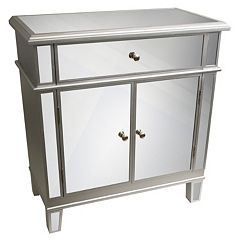 Decor Therapy Mirrored Chest by