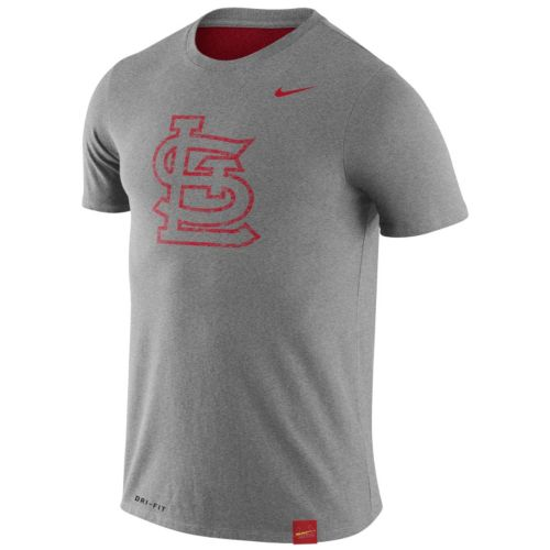 Men's Nike St. Louis Cardinals Fresh Logo Tee