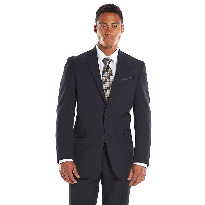 Men's Billy London Slim-Fit Mini-Checked Suit Jacket