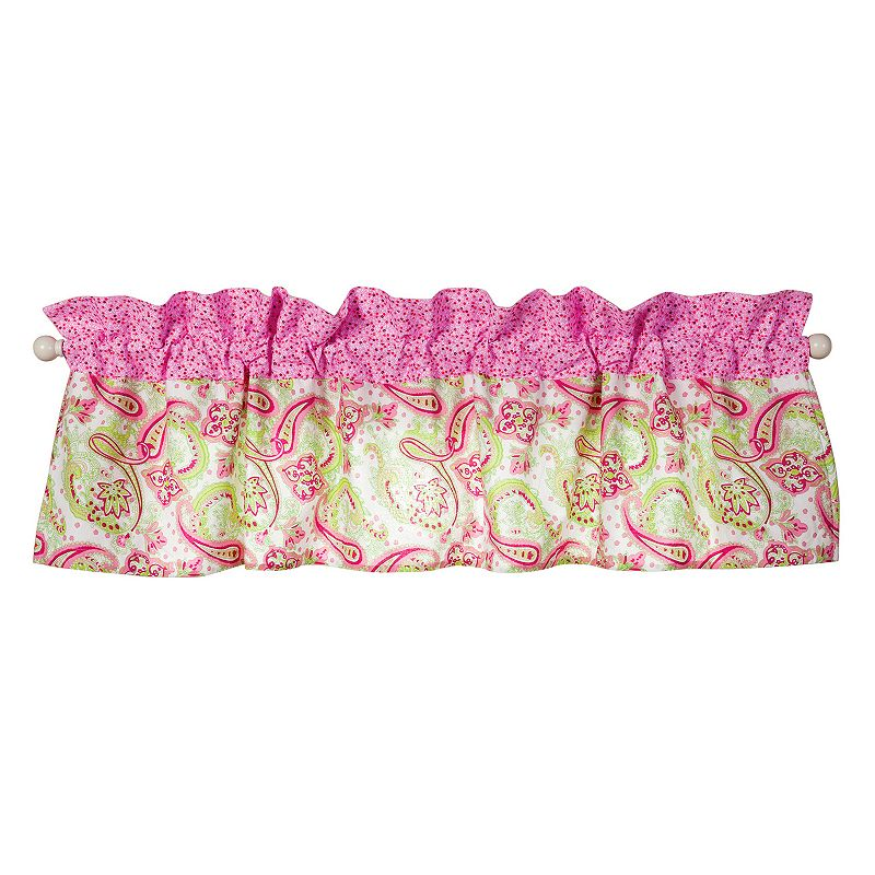 Trend Lab Elephant Flowers Window Valance