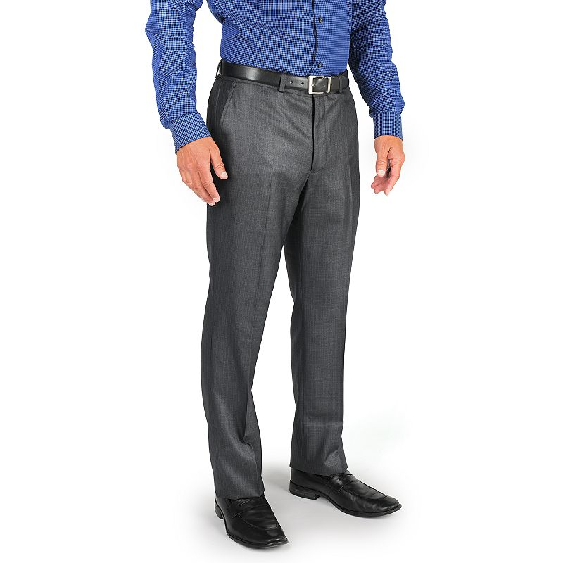 Men's Billy London Slim-Fit Flat-Front Suit Pants