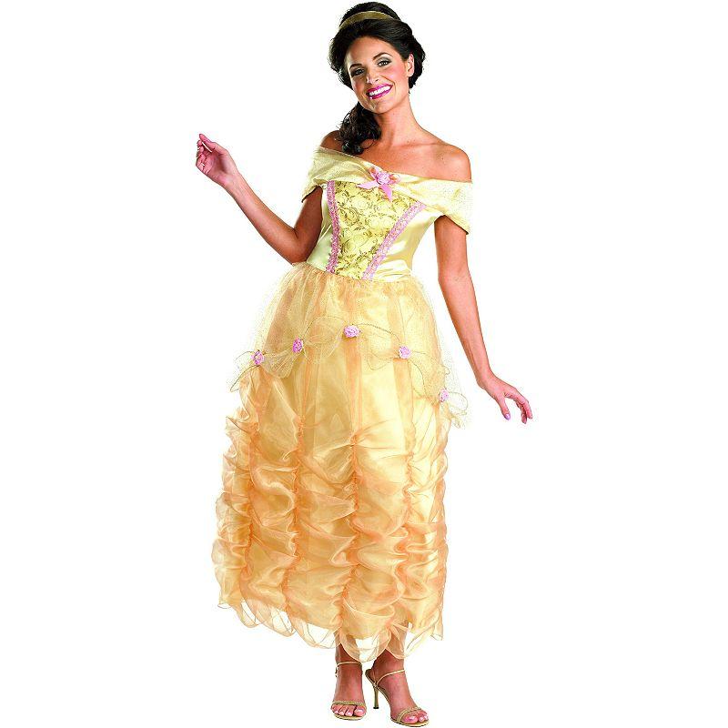 Disney Princess Belle Deluxe Costume - Adult