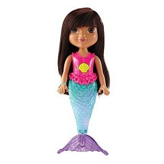 Dora & Friends Sparkle & Swim Mermaid Dora by Fisher-Price by