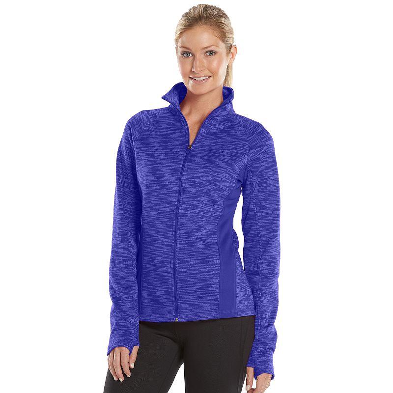 Women's Tek Gear® Mockneck Fleece-Lined Workout Jacket
