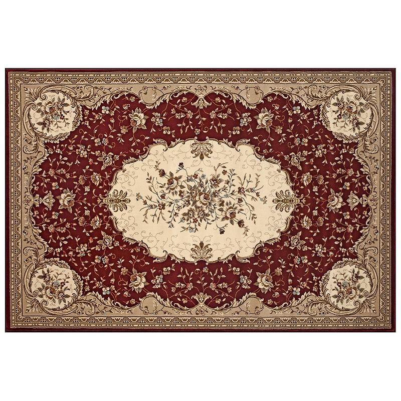 World Rug Gallery Classique Savonnerie Floral Rug
