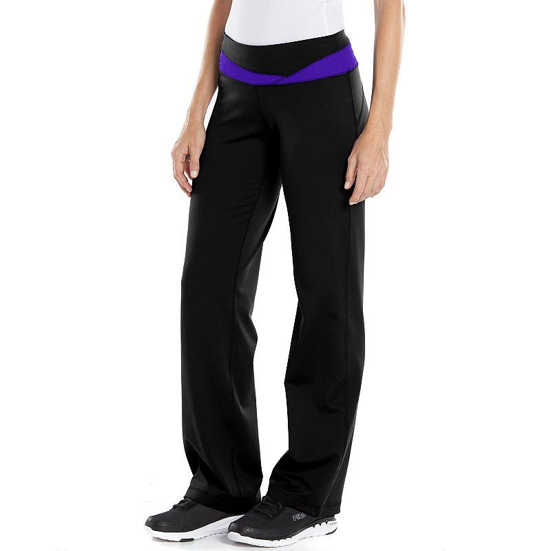 Women's Tek Gear® Pieced Yoga Leggings