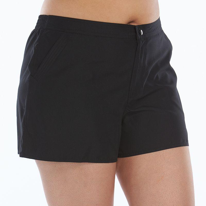 Plus Size Croft & Barrow® Swim Shorts