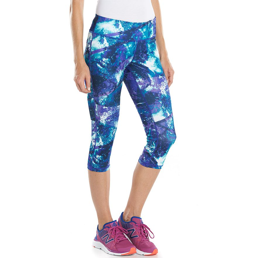 2304270215661 Kohl's: Tek Gear Capri Workout Leggings For ONLY $9.05 Each {Reg $30 ...