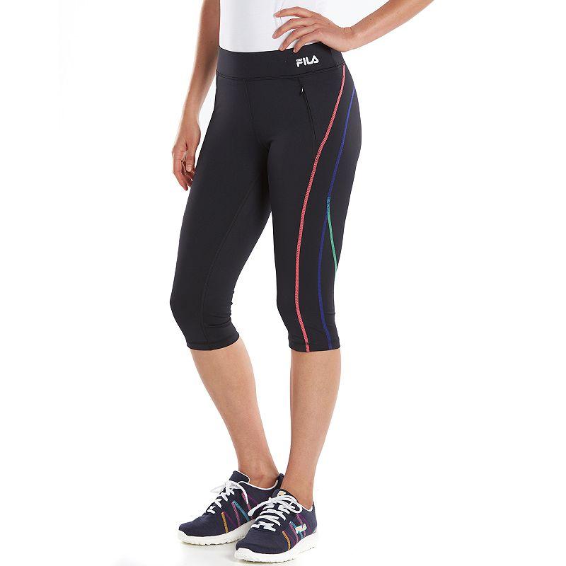 Women's FILA SPORT® Verve Workout Skimmer Capri Leggings