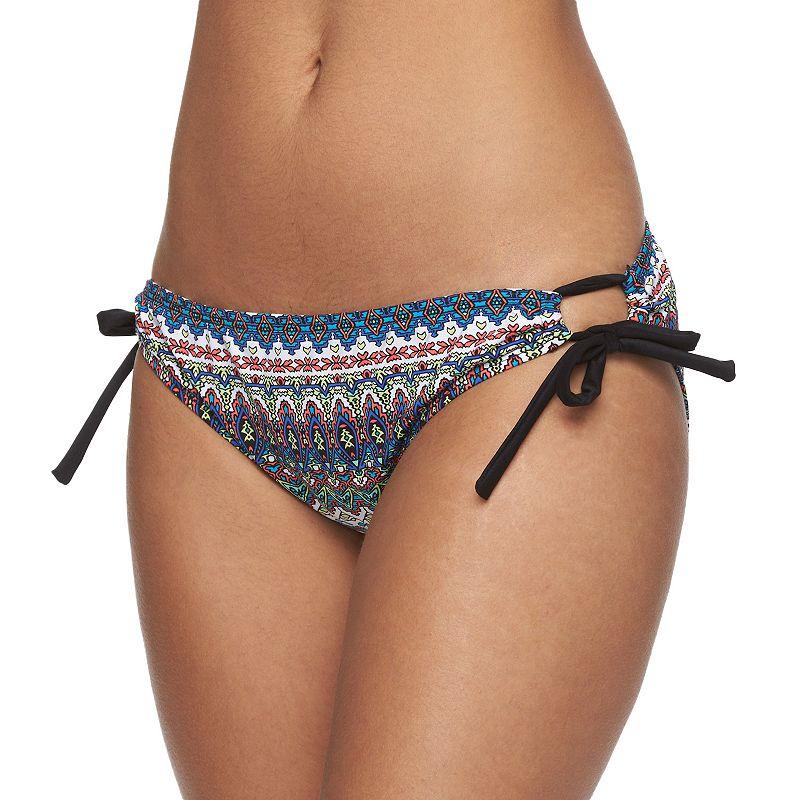 Women's N Geometric Scoop Bikini Bottoms - Women's