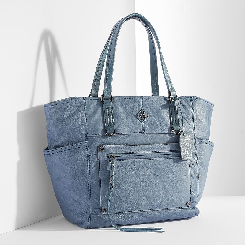 Simply Vera Vera Wang Monaco Leather Tote