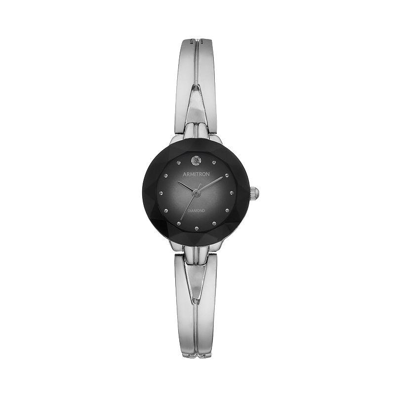ArmitronWomen's Diamond Half-Bangle Watch