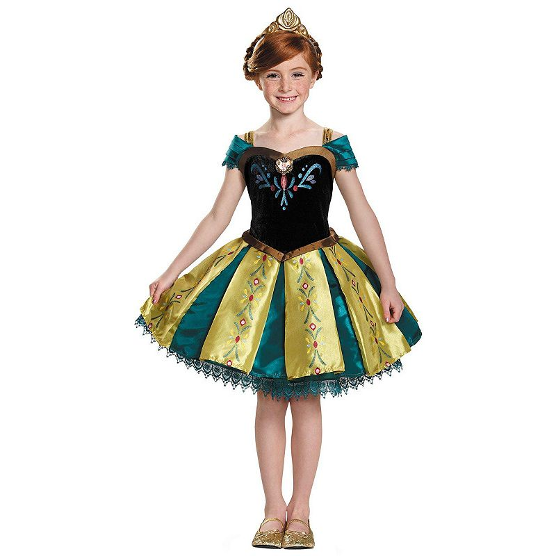 Disney's Frozen Anna Coronation Gown Prestige Costume - Toddler