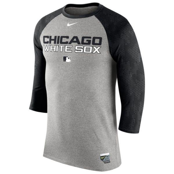 Men's Nike Chicago White Sox AC Legend Raglan Tee